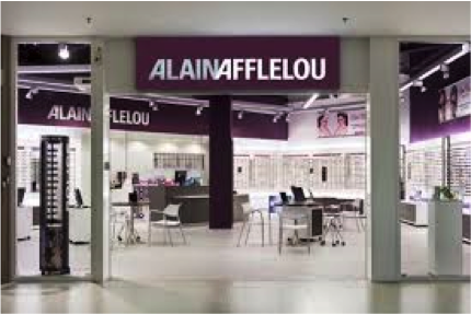Point de vente Alain Afflelou