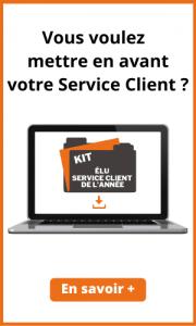 Lien vers Kit pour préparer l'élection du Service client de l'année